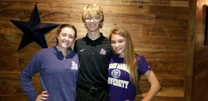 So proud of our three staffers heading to JMU this fall – doubling the…