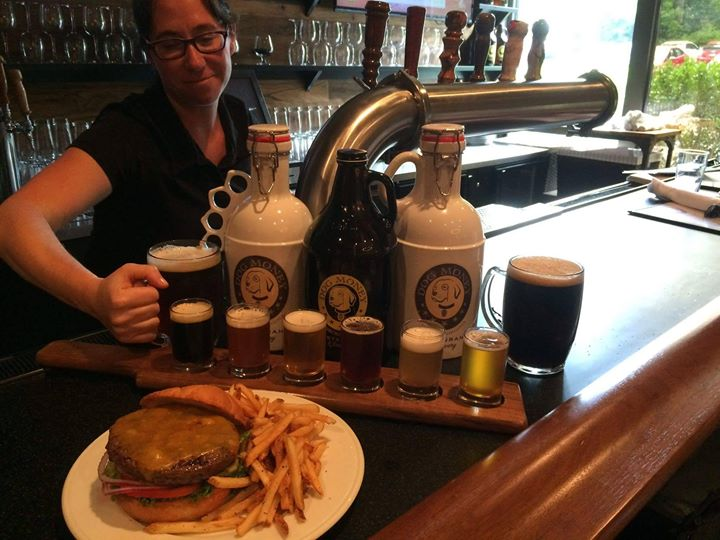 Intoducing $ Burger & Beer Wednesday! Dog Money's half-pound special blend burger with your…