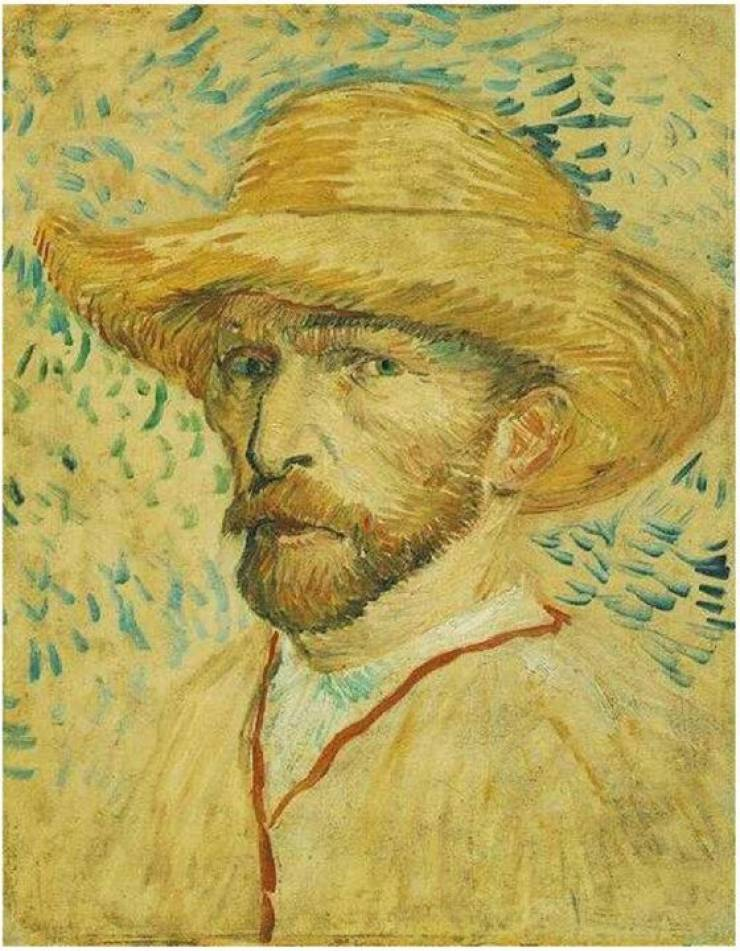 So Vincent Van Gogh sits at the bar, acting a little sad and quiet.…