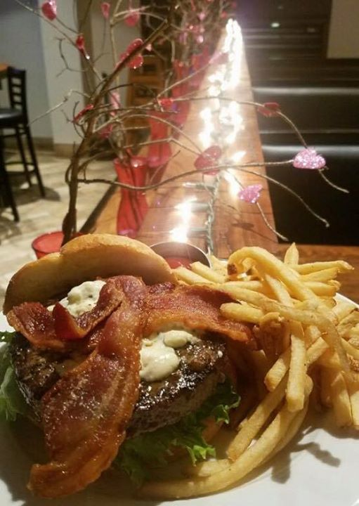 The New Burger of the Week: Blackened Bacon Bleu Burger! Blacken seasoning, bacon, bleu…