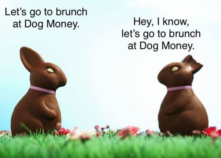 Dog Money SUNDAY BRUNCH new earlier hours 10:00am-2:00pm. Expanded menu begins this Easter Sunday!…
