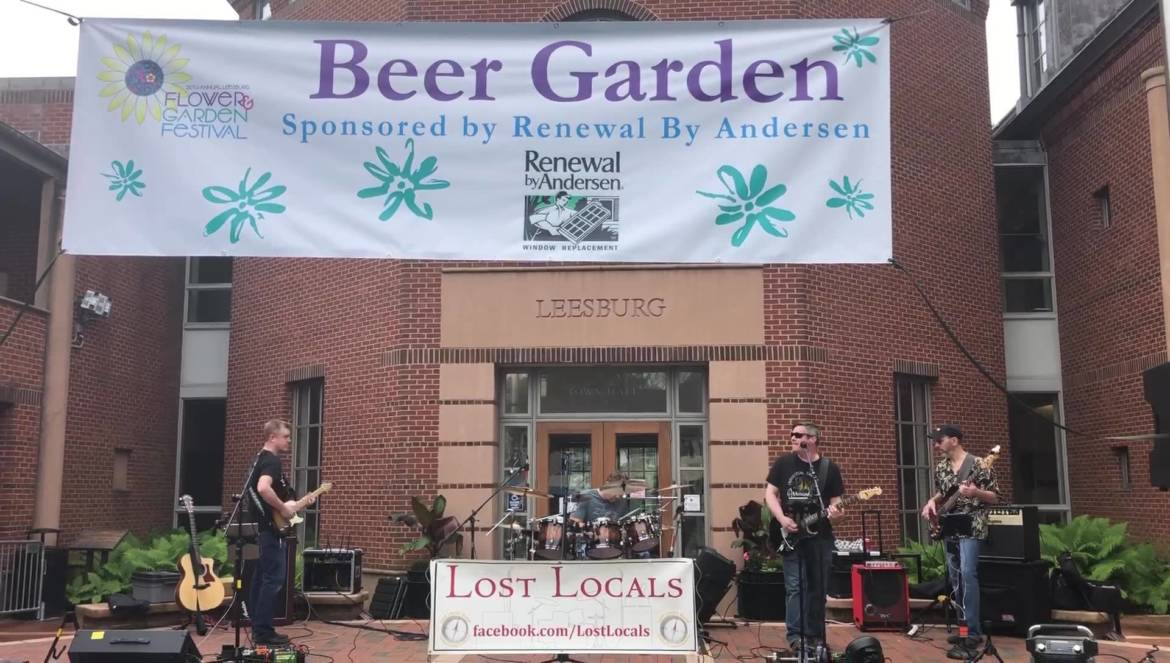 Beer Garden DAY TWO at Flower& Garden Festival with Lost Locals